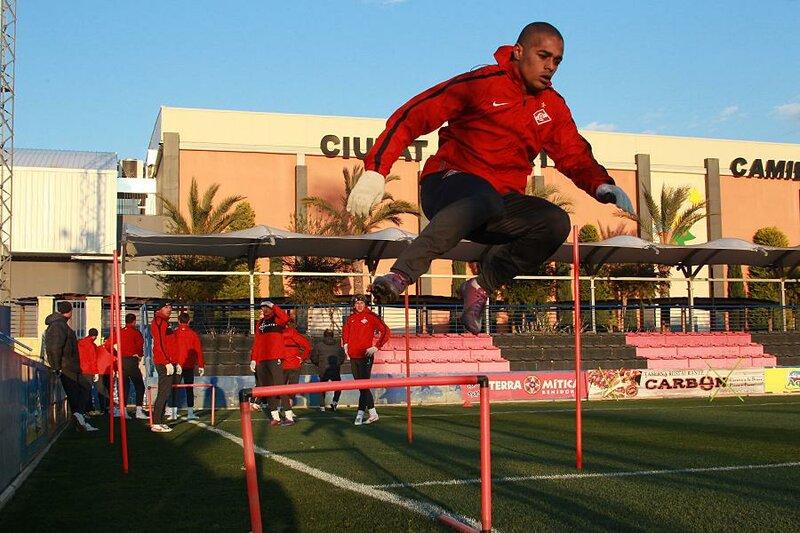 Вечерняя тренировка «Спартака» в Испании (Фото)