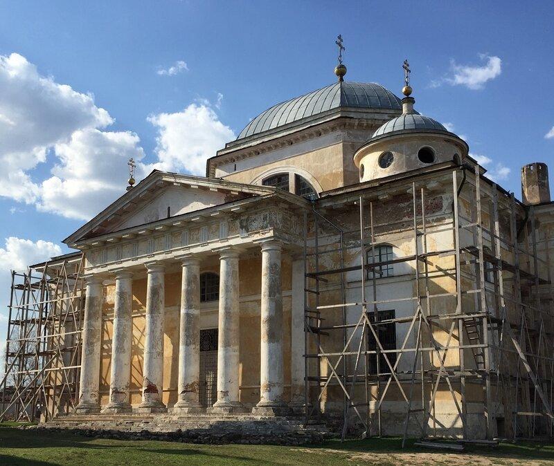 Борисоглебский собор  по проекту Николая Александровича Львова