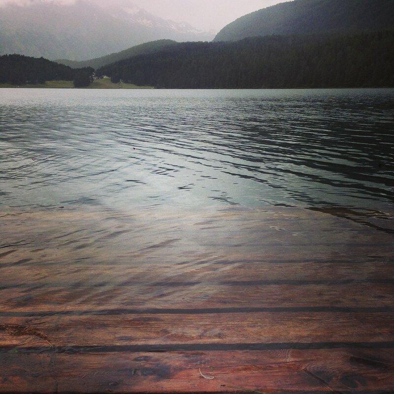 Санкт-Мориц. Озеро