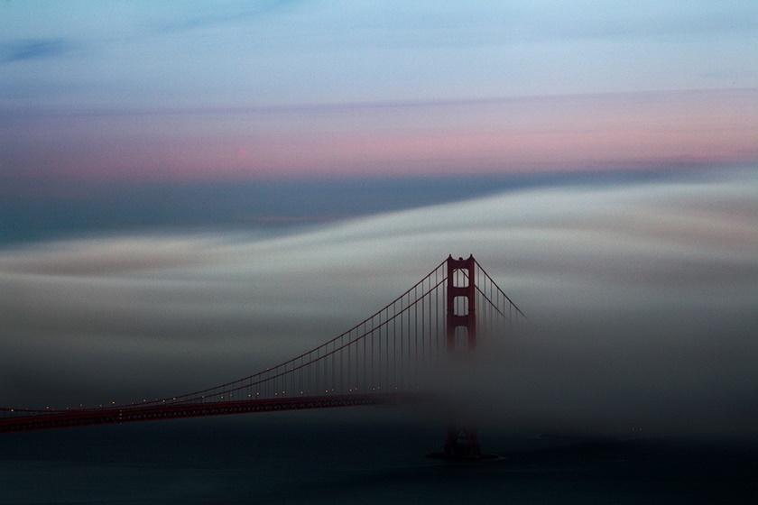 Красивые фотографии тумана в Сан Франциско, США 0 142286 70cc0c89 orig