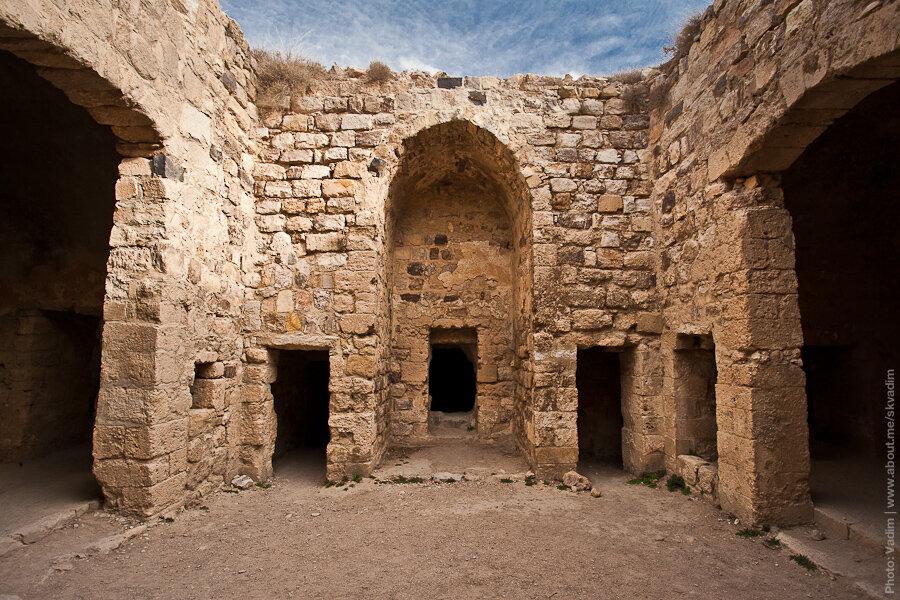 Замок крестоносцев в Аль-Кераке, 1142 год / Crusader castle in Al Kerak, was built in 1142