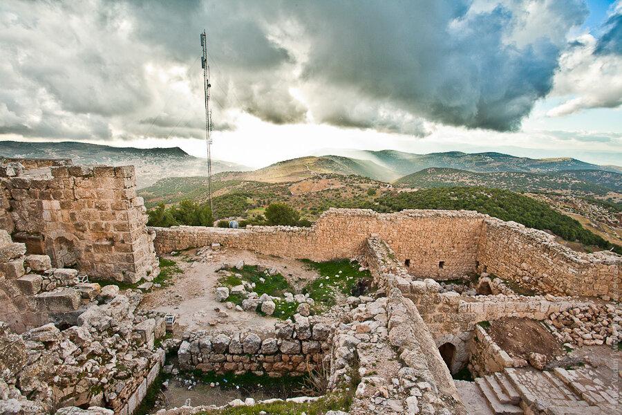 Замок Аджлун / Crusaders' castle in Ajlun