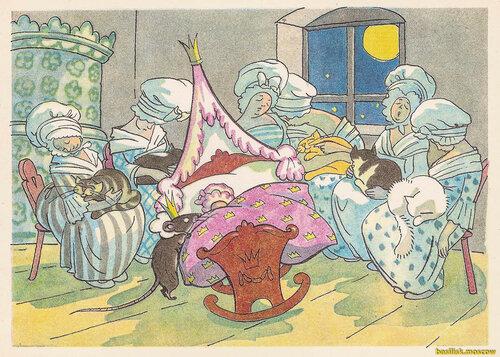 Открытки. Щелкунчик и мышиный король.1973