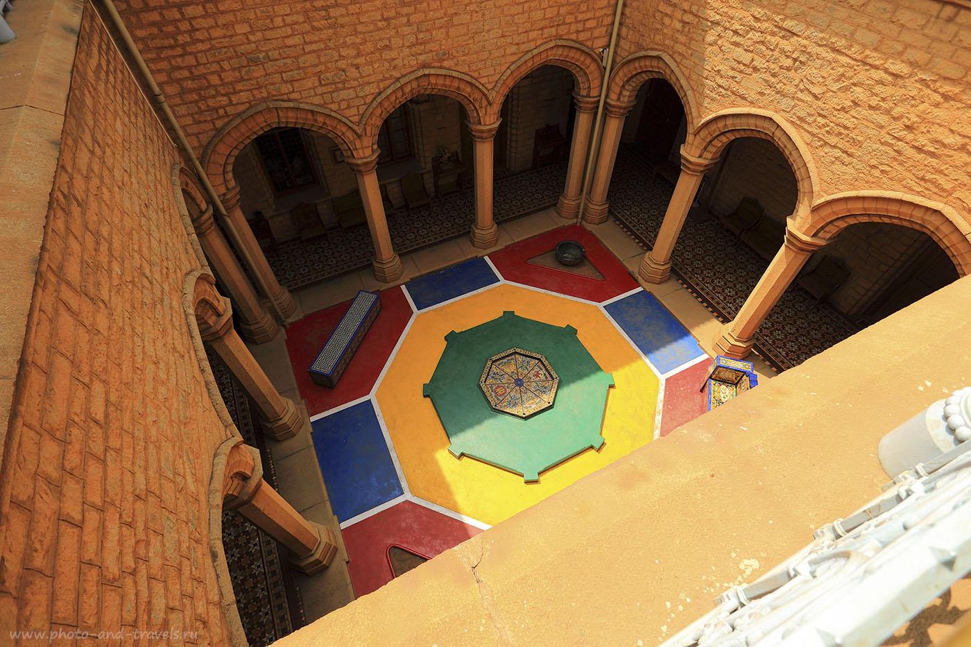 Фотография 6. Внутренний дворик дворца в Бангалоре