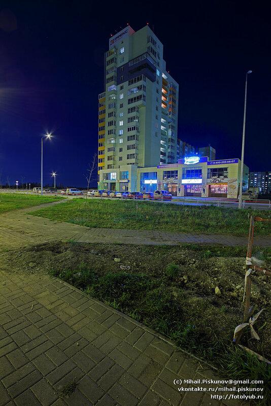 Челябинск. Жилое многоэтажное здание ул. Академика Королёва 1