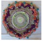 плетение ковриков. схема