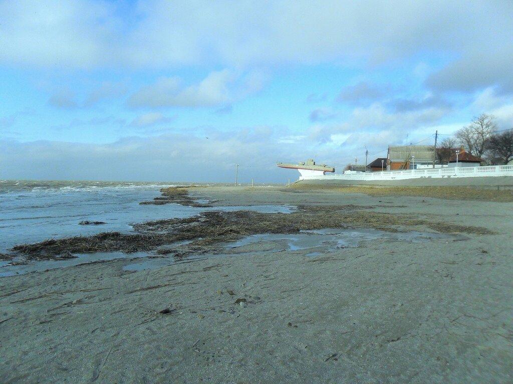 Прибыла вода на пляж ...SAM_5728.JPG