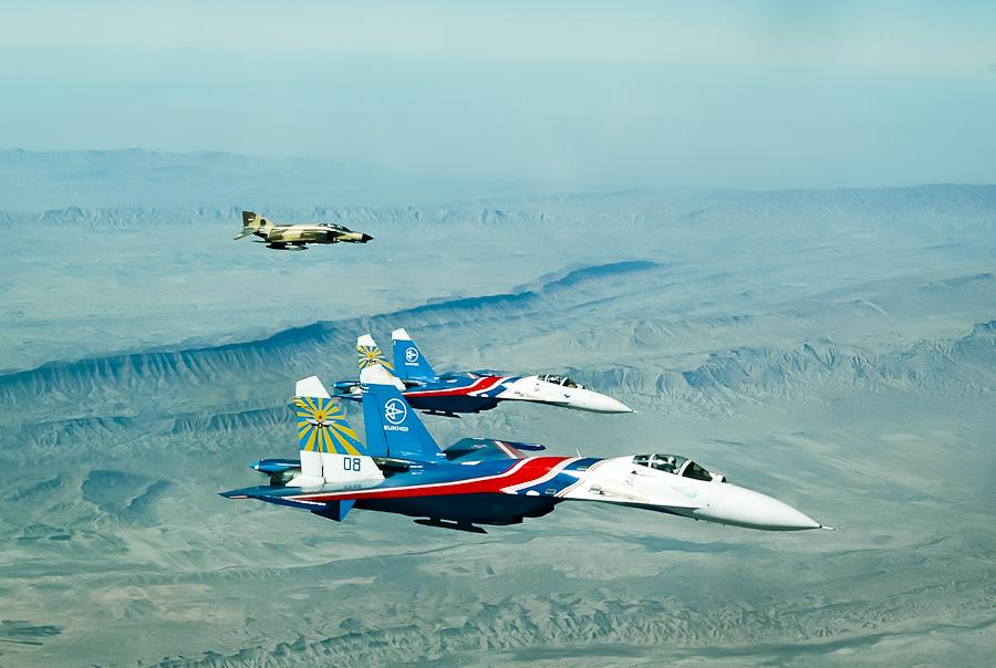 Русские Витязи над Ираном