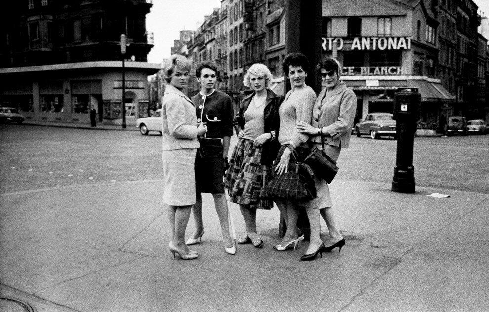 Транссексуальные проститутки Парижа,1959