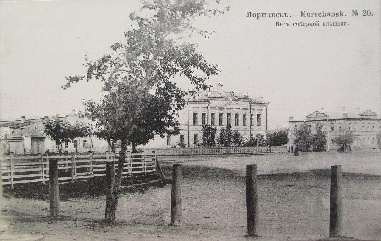 Вид соборной площади