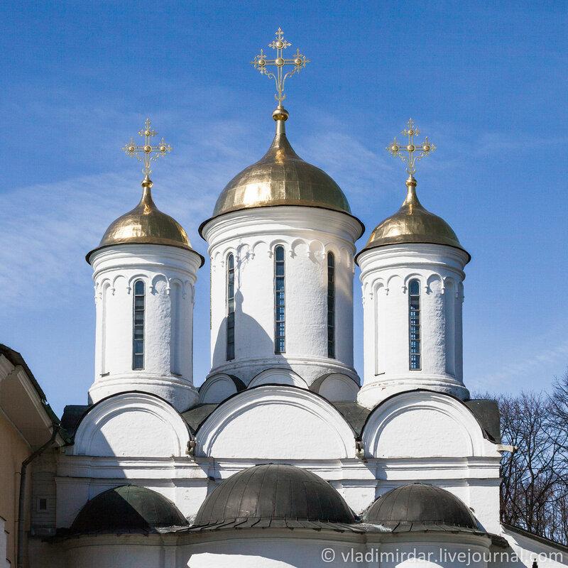 Собор Спаса Преображения. Спасо-Преображенский монастырь. Ярославль.