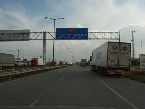Транспортный кризис между Болгарией и Турцией