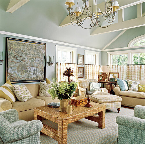for Duck egg blue and grey living room ideas