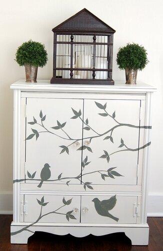 Мебель роспись своими руками