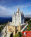 Храм Святого Сердца  (Sagrat Cor) на горе Тибидабо. Барселона.