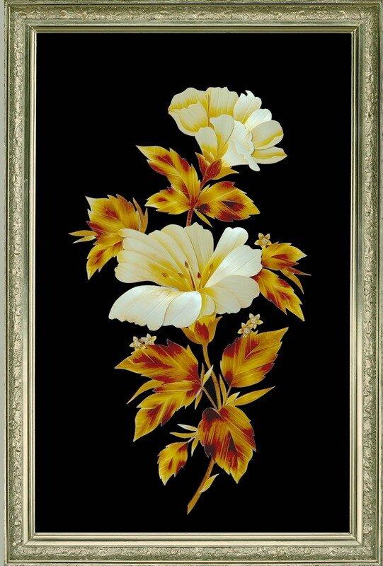 0 65fe1 7621361c XL Картины из соломки Валерия Козлова.