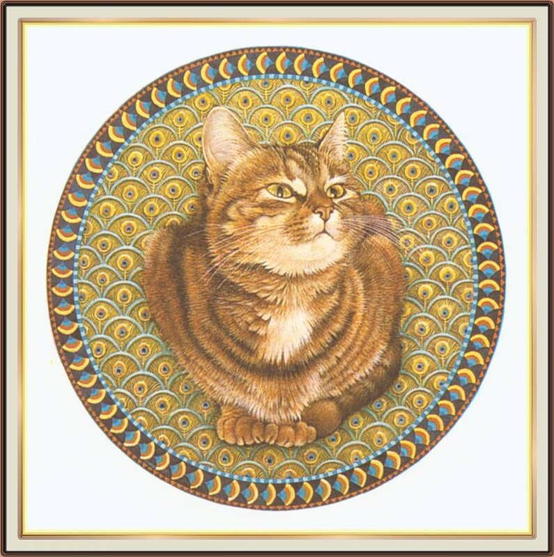 Картинки кошек с рисунками