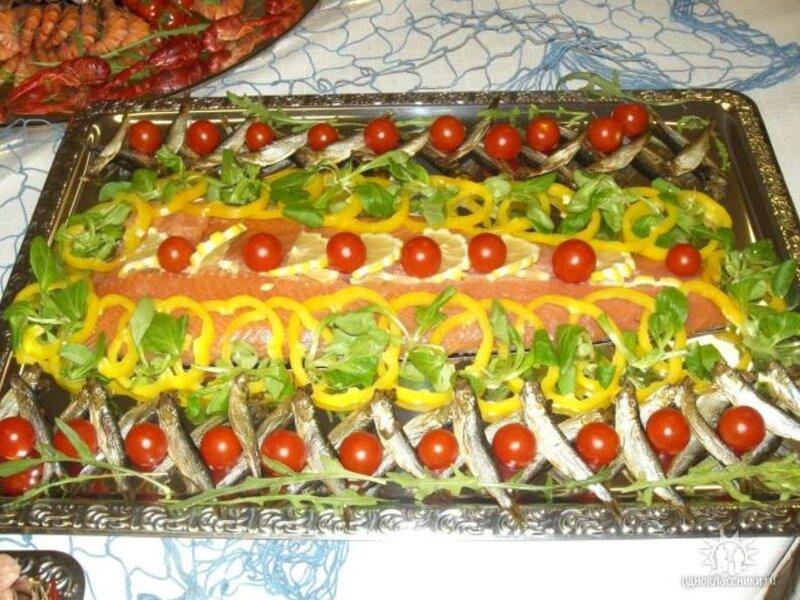Украшение праздничных блюд фото
