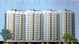Дом серии И155.  Планировка двухкомнатной квартиры с эркером.