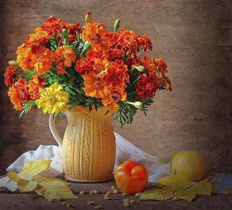 Натюрморты с фруктами и овощами