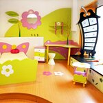 Естественно эта...  Детская комната на заказ по вашим размерам.