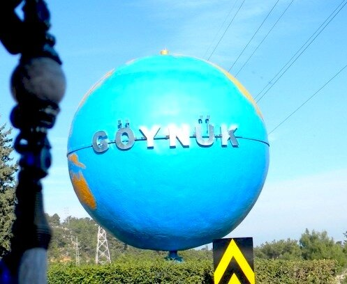 Глобус города Гейнюк*