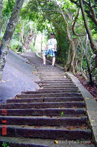 лестница в небо, дун тян, паломничество, китай, хайнань