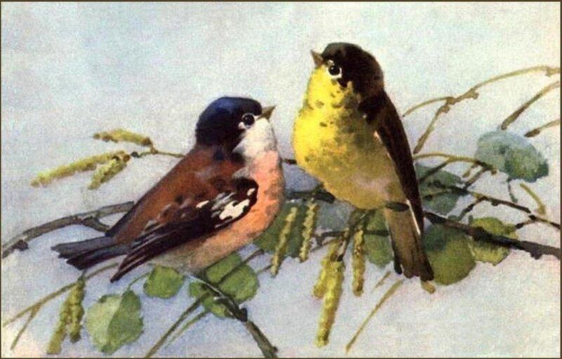 К. Кляйн.  Птички.