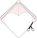 Упаковка в форме сердца