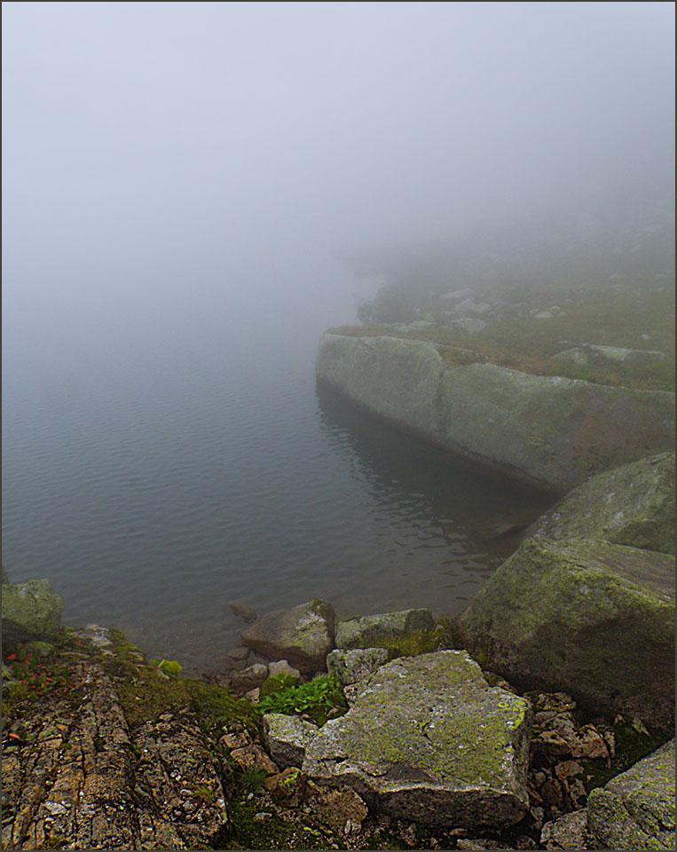 Озеро с одним берегом