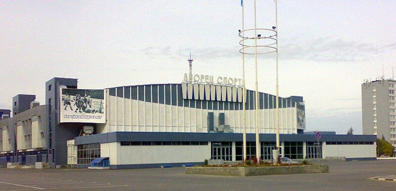 Москва. Ледовый дворец спорта