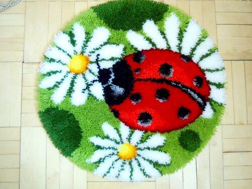 Яркий, весенний коврик готов. Комментарии : Дневники на КП