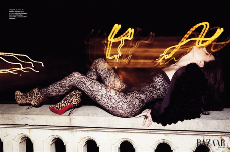 модель Мисси Райдер / Missy Rayder, фотограф Nico