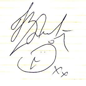 автограф Натальи Водяновой
