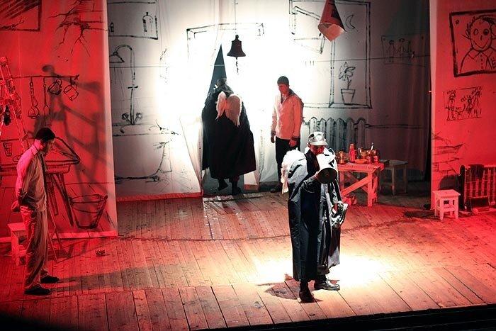 Спектакль во Владивостоке