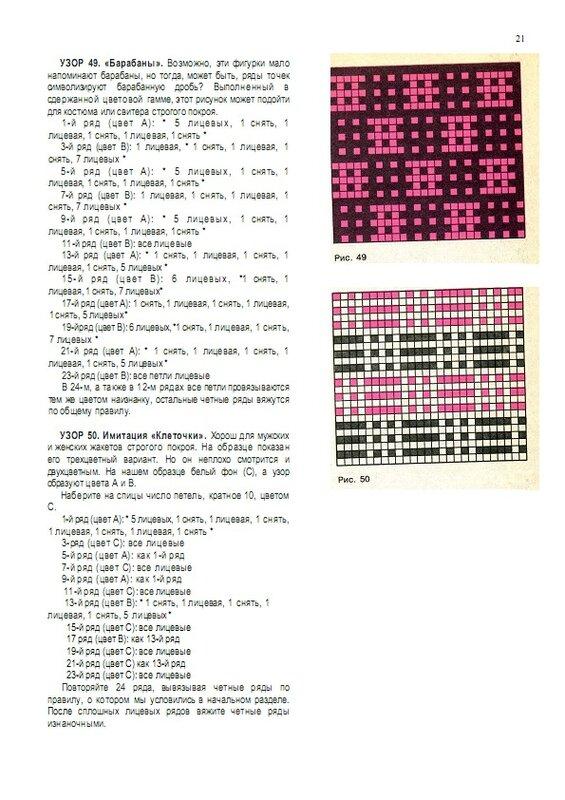 Как читать схемы ленивых узоров