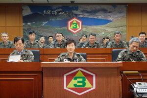 Сеул не намерен выключать громкоговорители на границе с КНДР