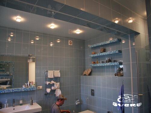 облицовка мозаикой, оконных откосов, колонн, потолочной балки, полок