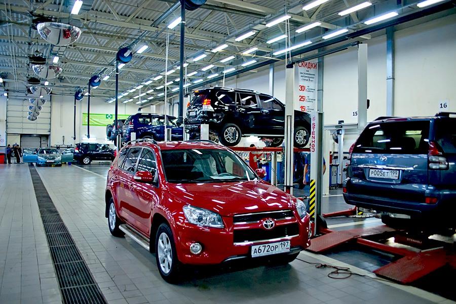 Toyota. репортажная фотосъемка