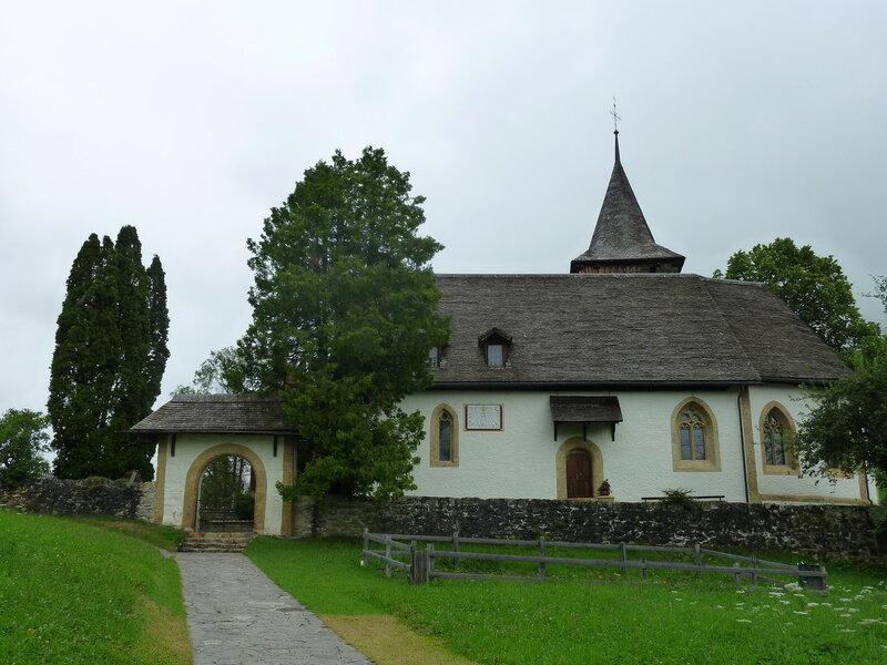Церковь в Лауенене. Не звонит!