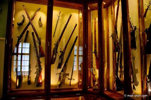ружья, оружие, чески крумлов замок