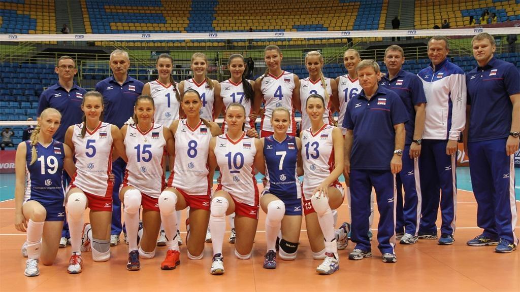 Волейболистки сборной Российской Федерации стартовали спобеды наЧЕ, выиграв укоманды Болгарии