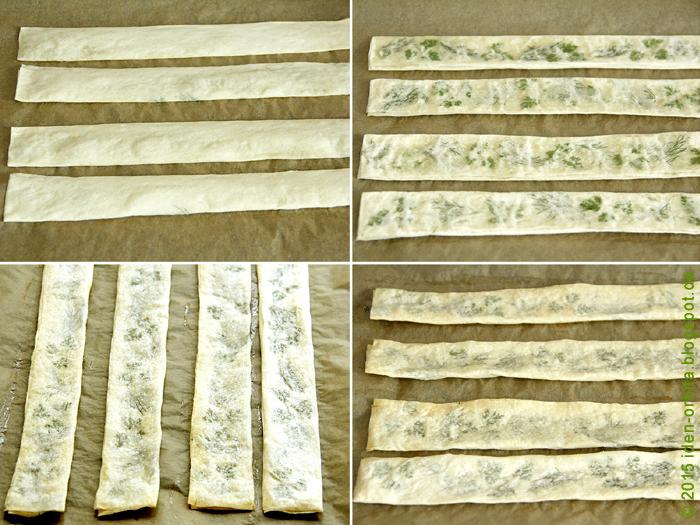 Хрустящие палочки с травами