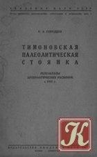 Книга Книга Тимоновская палеолитическая стоянка