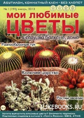 Журнал Мои любимые цветы №1 (январь 2013)