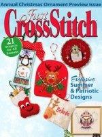 Журнал Just Cross Stitch Annual Christmas Ornaments 2013 jpg 38,87Мб