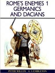 Книга Rome's Enemies (1) Germanics and Dacians