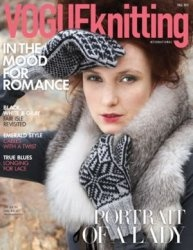 Журнал Vogue Knitting international, fall 2011