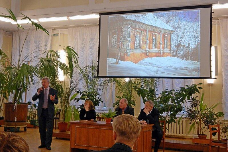 На презентации фотоальбома «Хлынов - Вятка - Киров» в большом зале библиотеки им. Герцена
