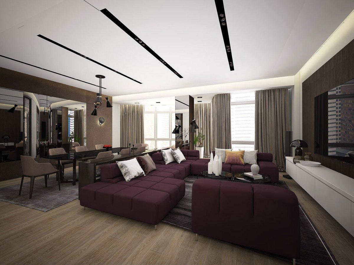Medianyk Studio, проекты Medianyk Studio, дизайн студия Medianyk Studio, 50 оттенков кофе, элитные квартиры в Баку, интерьер квартиры для мужчины